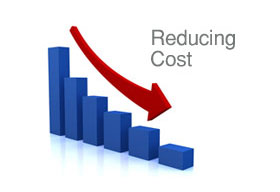 Reducing costs through operational efficiency