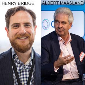Henry Bridge, President, Segovia Technology Inc. & Albert Maasland, Group Head, Crown Agents Bank, Segovia Technology