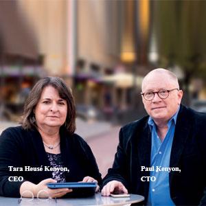 Tara Heusé Kenyon, CEO and Paul Kenyon, CTO, Kentara