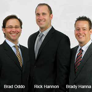Brad Oddo, CEO; Brady Hanna, EVP; Rick Hannon, EVP, BASYS Processing
