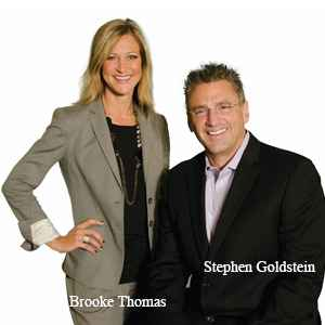 Brooke Thomas, Founder and Stephen Goldstein, Founder, Thomas Gold Solutions