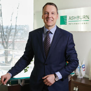 Žoržas Šarafanovičius, CEO, ASHBURN International