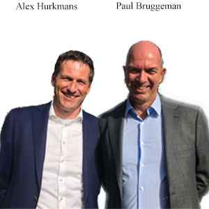 Alex Hurkmans, Chief Digital Officer, GBI and Paul Bruggeman, Managing Director, Cerrix, Cerrix