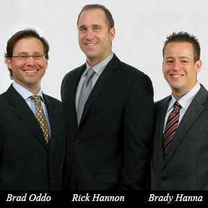 Brad Oddo, CEO, Rick Hannon, EVP of Bank Services and Brady Hanna, EVP of Financial Services, BASYS Processing