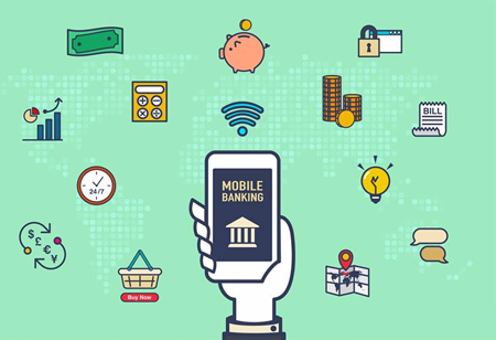 Four Key Applications of Mobile Banking