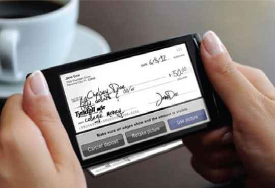 Pearl Harbor FCU Customers can Now Deposit their Checks through Mobile