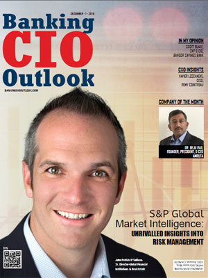 S&P Global Market Intelligence: Unrivalled Insights Into Risk Management