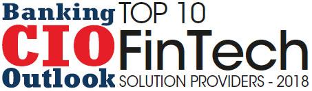 Top 10 FinTech Solution Companies - 2018